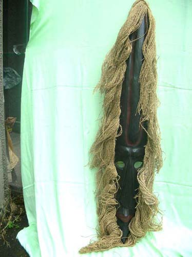Wholesale independent distributor tribal mask rope hair