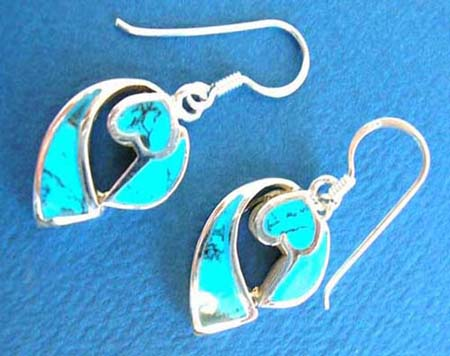 thailand handmade french hook 925 sterling silver earring