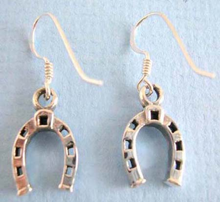 925.thai sterling silver earring on french wire